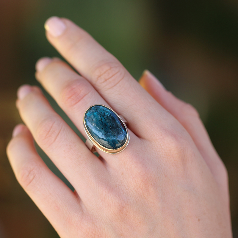 Jamie Joseph Blue Green Kyanite Ring At Voiage Jewelry