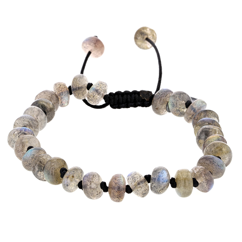 Labradorite 8mm Smooth Bracelet