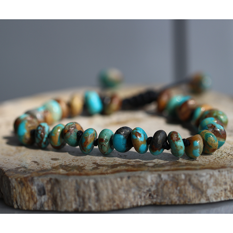 Arizona Turquoise 8mm Smooth Bracelet