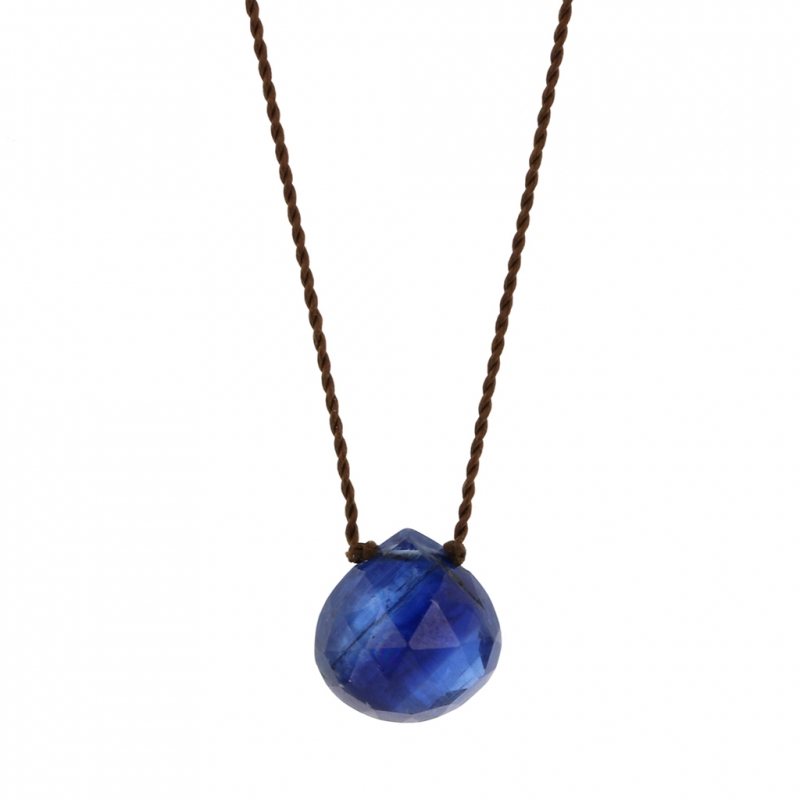 Faceted Kyanite Zen Gems Necklace