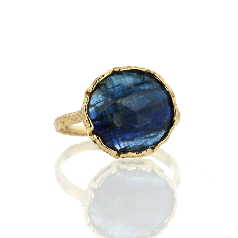 All Gold Kyanite Lace Ring