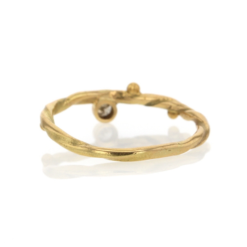 Seafire Gold Diamond Ring 3