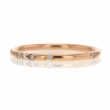 18k Rose Gold Constellation Pave Band Ring