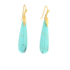 Turquoise Simple Earrings Image