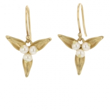 Quin Gold Earrings Image