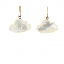 Small Daydreamer Mother of Pearl Earrings Image