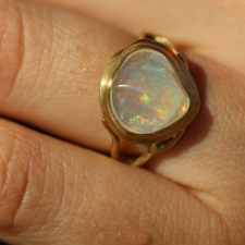 Jelly Opal Branch Ring Image