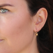 Lily of the Valley 18k Gold Earrings Image