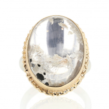 Pyramid Mountain Quartz Ring Image