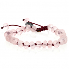 Rose Quartz Faceted Bracelet Image