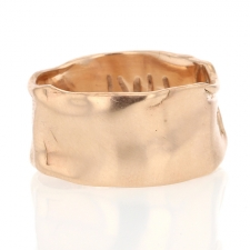 Rose Gold Fascia Ring Image