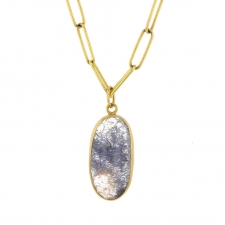 Rutilated Blue Quartz Pendant (Chain Sold Separately) Image