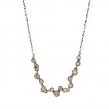 Diamond Necklace in White Gold Image
