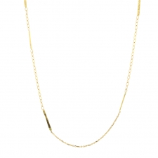 Short Sycamore Gold Strand Necklace Image