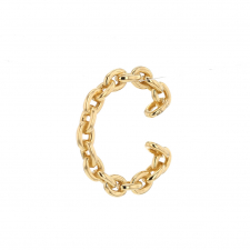 Chain Gold Ear Cuff Image