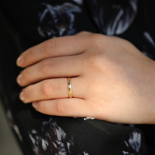 Cloak Band 18k Yellow Gold Ring Image