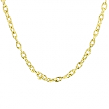 Novella 18k Yellow Gold Chain Image