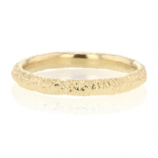 Gold Etched Band Image
