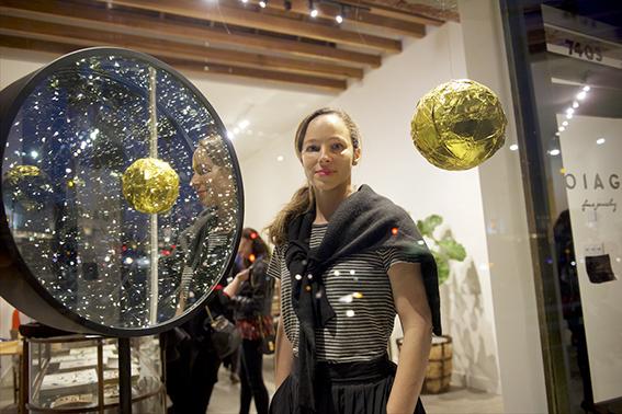 Krislyn Komarov Art Installation at Voiage Los Angeles