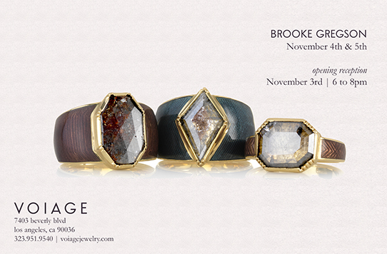 Brooke Gregson Event at Voiage Jewelry LA
